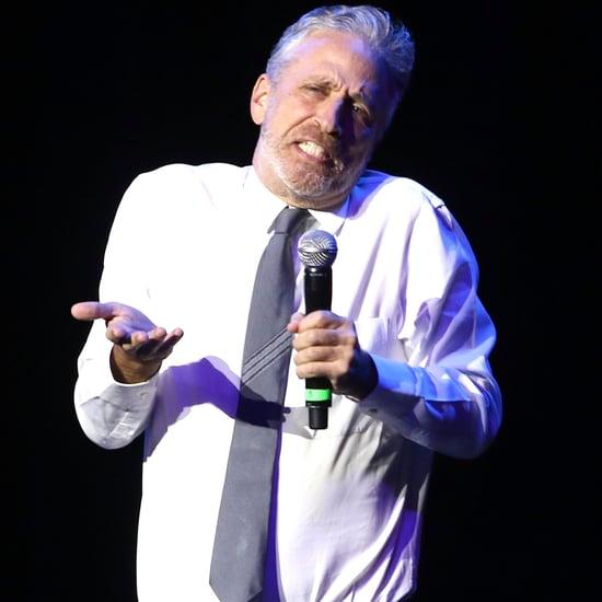Jon Stewart Talks About Twitter Fight With Donald Trump