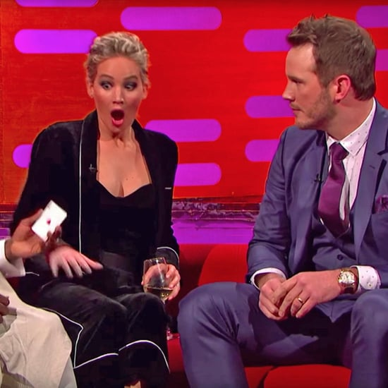 Chris Pratt Magic Trick on Graham Norton Show Dec. 2016