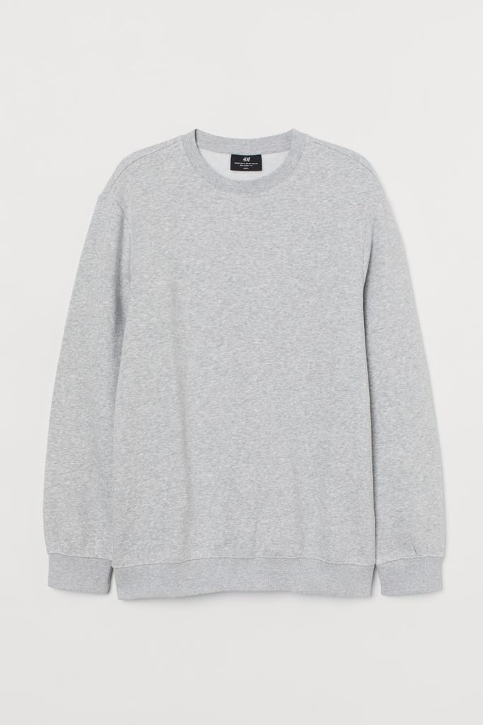 Relaxed Fit Sweatshirt - Gray melange - Men | H&M US