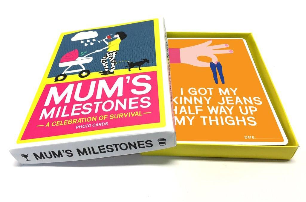 Mum's Milestones Funny Milestone Cards