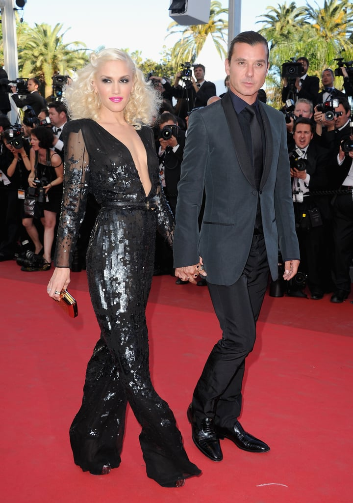 Gwen Stefani and Gavin Rossdale attended The Tree of Life premiere in Cannes in May 2011.