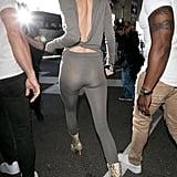 Kendall Jenner Snakeskin Boots
