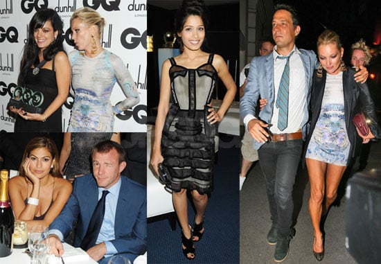 Red Carpet Photos of Kate Moss, Lily Allen, Freida Pinto at UK GQ Men of the Year Awards