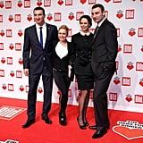Hayden Panettiere Is Adorably Dwarfed by Fiancé Wladimir Klitschko's Super Tall Family