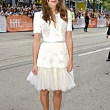 Keira Knightley in Chanel Couture