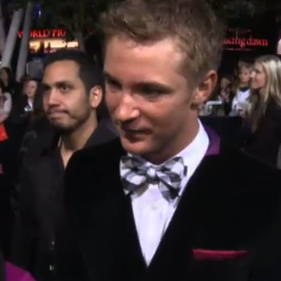 Video of Michael Welch at Breaking Dawn Premiere