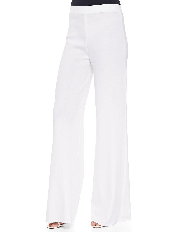Misook Plus Size Wide-Leg Pants | Demi Lovato Goes Shirtless ...