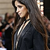 Camila Cabello Walked Paris Fashion Week in a Sexy Pantsuit