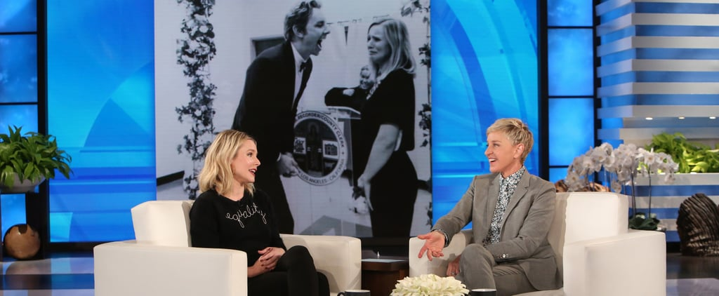 Kristen Bell and Dax Shepard Are Feuding With Each Other Through Ellen DeGeneres