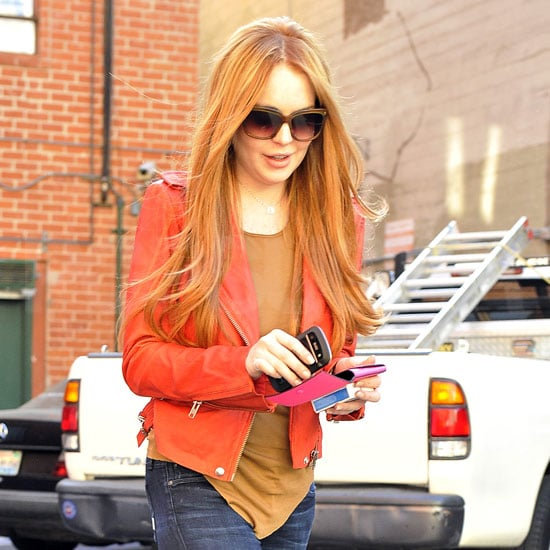 Lindsay Lohan Red Hair Pictures