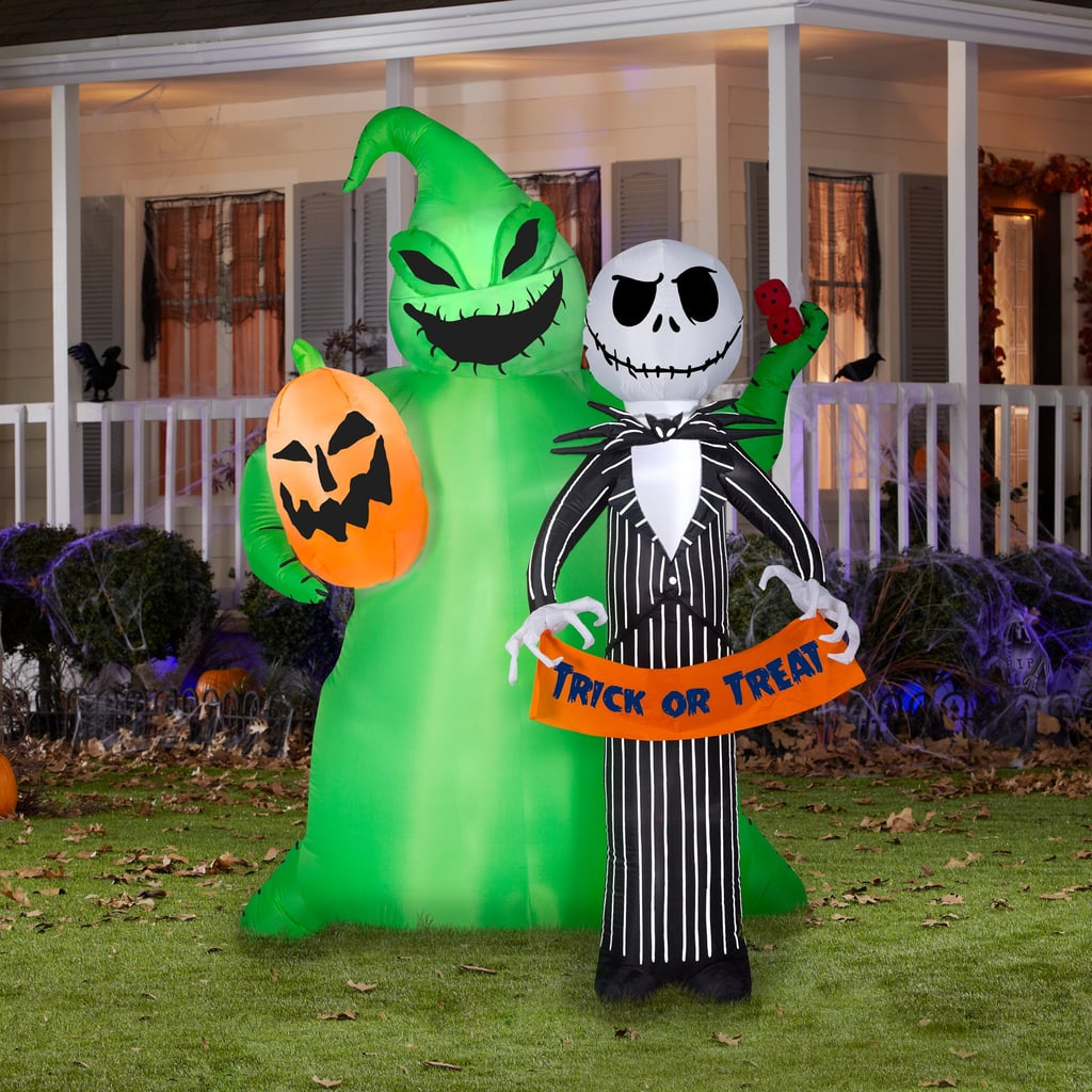 Jack Skellington and Oogie Boogie Airblown Inflatables