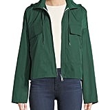 Theory Cropped Raincoat