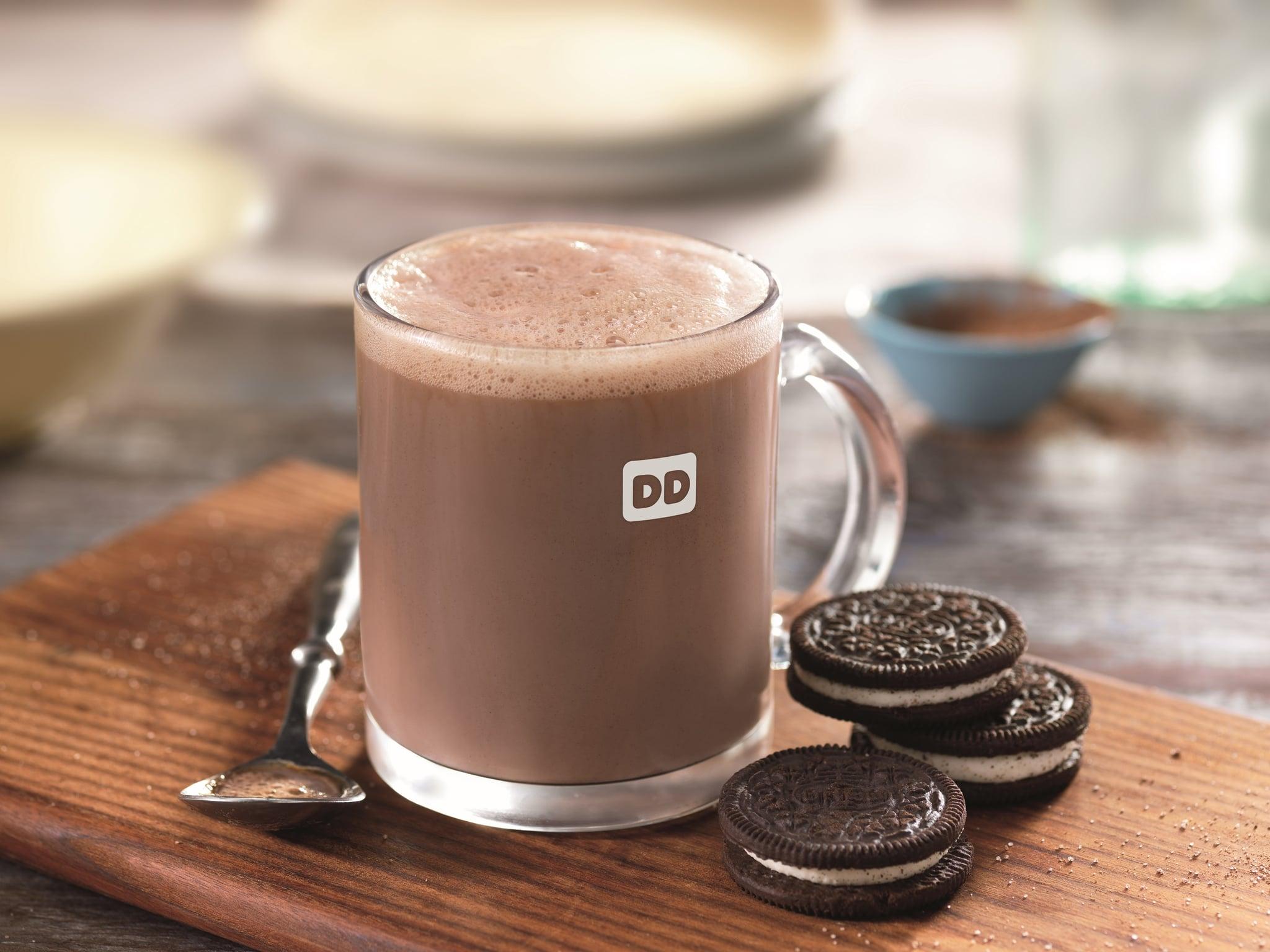 Dunkin Donuts Oreo Hot Chocolate Popsugar Food