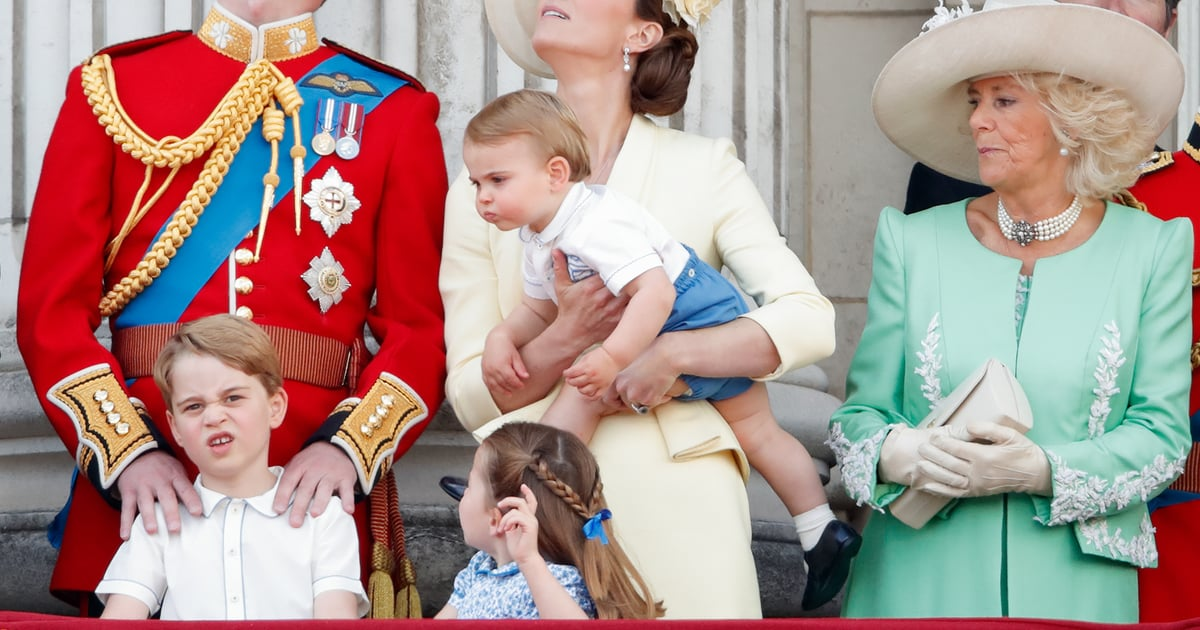 "Kate Middleton Jokes That George Is Jealous of Louis's Green Thumb: ""George Is a Little Grumpy"""