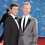 David Burtka and Neil Patrick Harris suited up for the 2010 show.