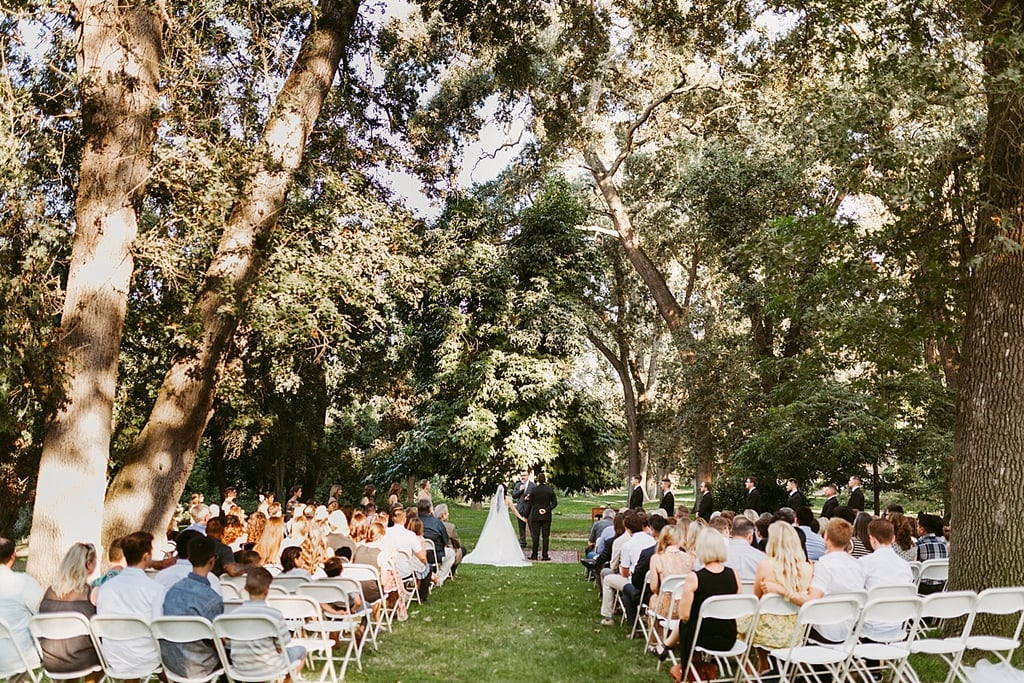 Intimate outdoor wedding popsugar love sex junglespirit Image collections