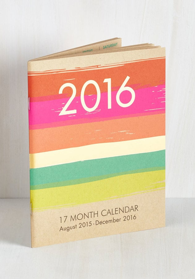 That's the Plan 2016 Planner