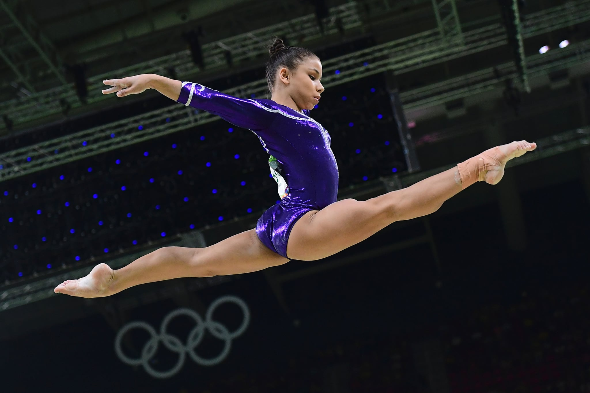 Who Is Brazilian Gymnast Flavia Saraiva Popsugar Latina