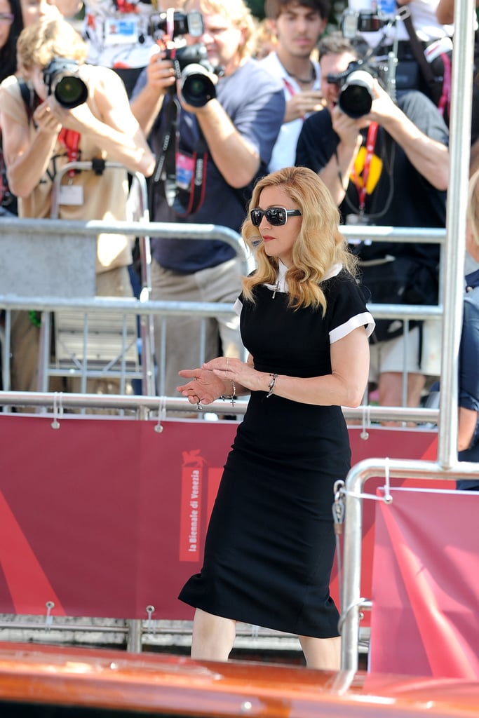 Madonna in Italy.