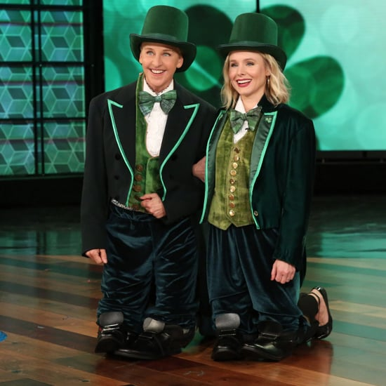 Kristen Bell Plays St. Patricks Day Heads Up on Ellen 2017