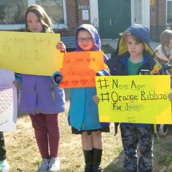 George Mason Elementary School Fifth-Grade Walkout