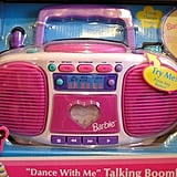 "Barbie ""Dance With Me"" Talking Boombox"
