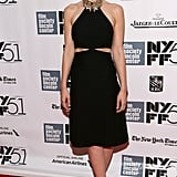 Carey Mulligan walked the red carpet at the New York Film Festival screening of Inside Llewyn Davis.