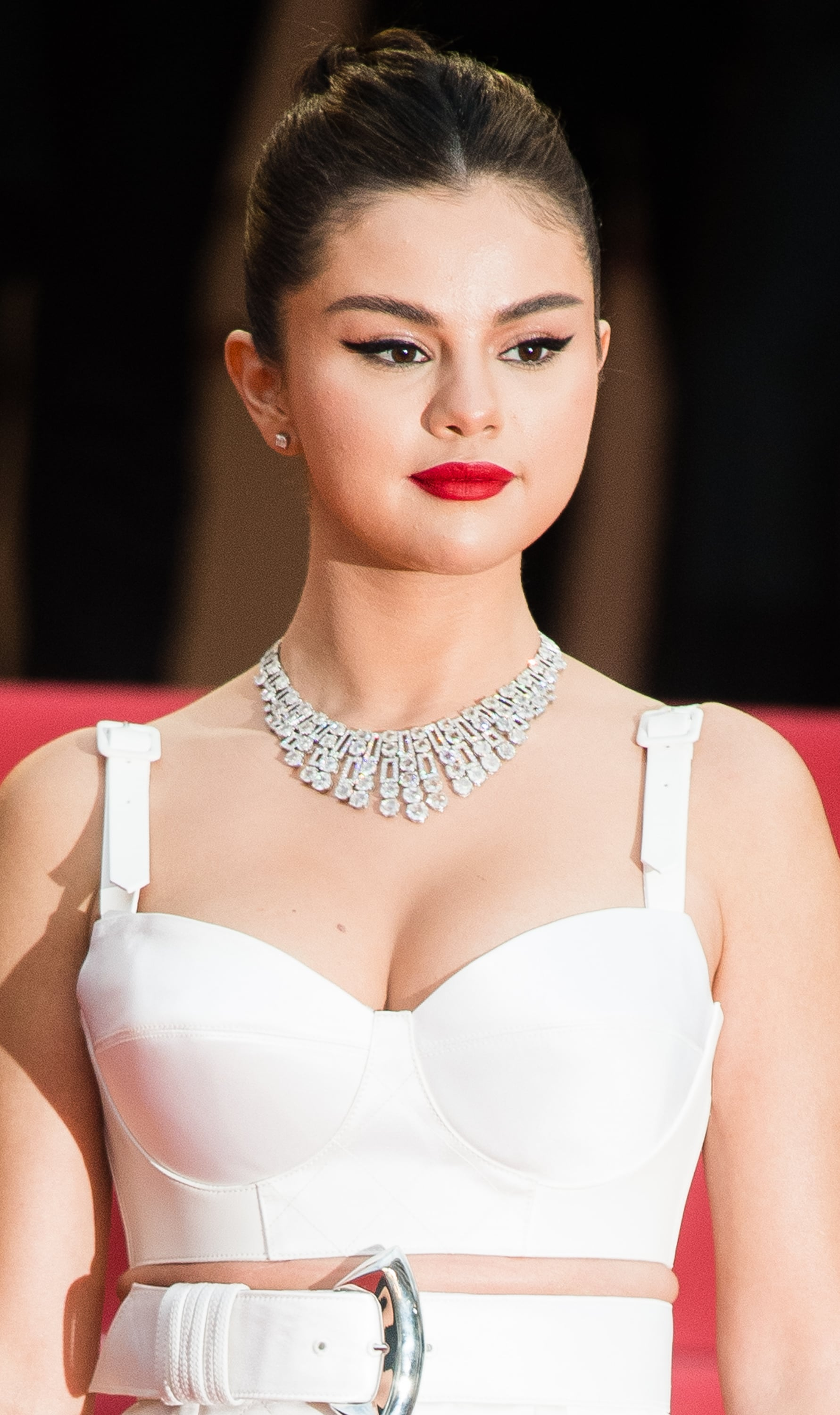 CANNES, FRANCE - MAY 14: Selena Gomez attends the opening ceremony and screening of