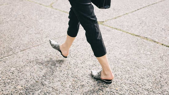 How To Wear Backless Loafers Without Slipping Out Of Them