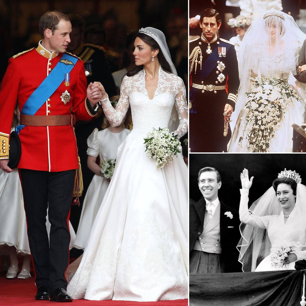 British Royal Wedding Gowns: Past Royal Wedding Dress Pictures