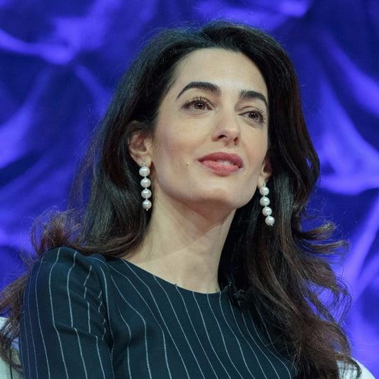 Amal Clooney Pearl Drop Earrings