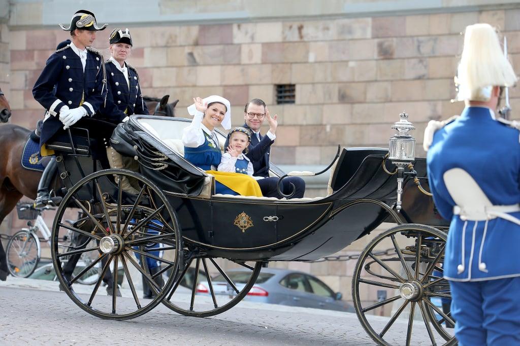 Swedish Royals at National Day Celebration