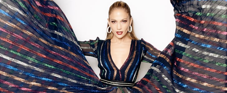 Jennifer Lopez's Blumarine Dress on American Idol 2015