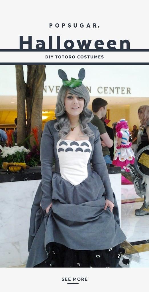 Totoro Costume Diy Popsugar Tech