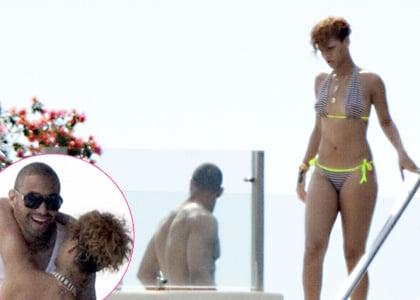 Rihanna spending time in Mexico with new boyfriend Matt Kemp