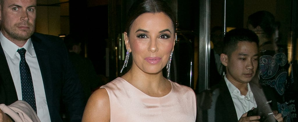 Eva Longoria's Wedding Dress Was Totally Classic — But a Little Bit Sexy Too