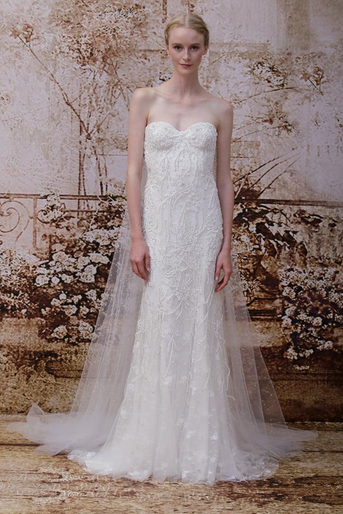 Monique Lhuillier Bridal Fall 2014 | Pictures | POPSUGAR Fashion
