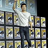 Pictured: Simu Liu at San Diego Comic-Con.