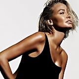One of Lara's campaign shots for The Base by Lara Bingle. That radiance! Source: Instagram user mslbingle