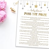 Pass the Prize Baby Shower Game