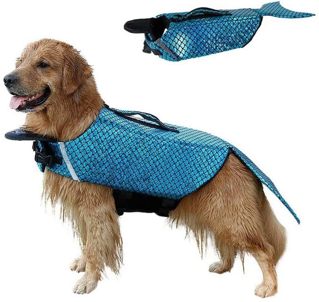 Buy the Blue Mermaid Dog Life Jacket Here
