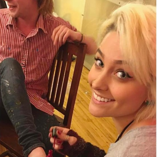 Paris Jackson Painting Macaulay Culkin's Toes Picture