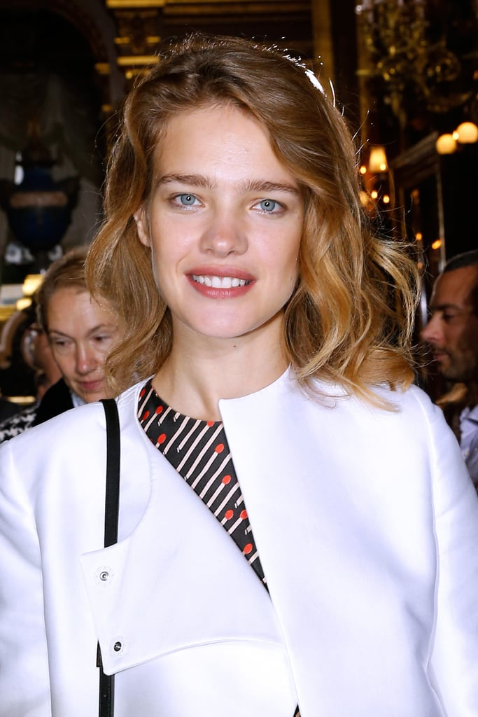 Natalia Vodianova at Stella McCartney Spring 2014.