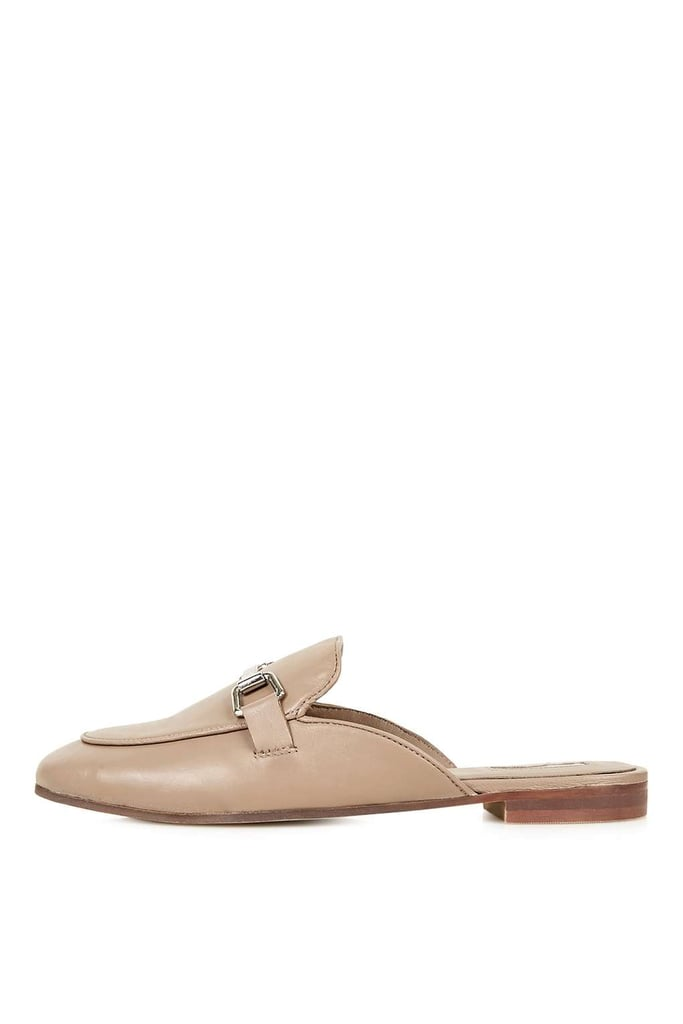 Topshop Kylie backless buckle loafer ($85)