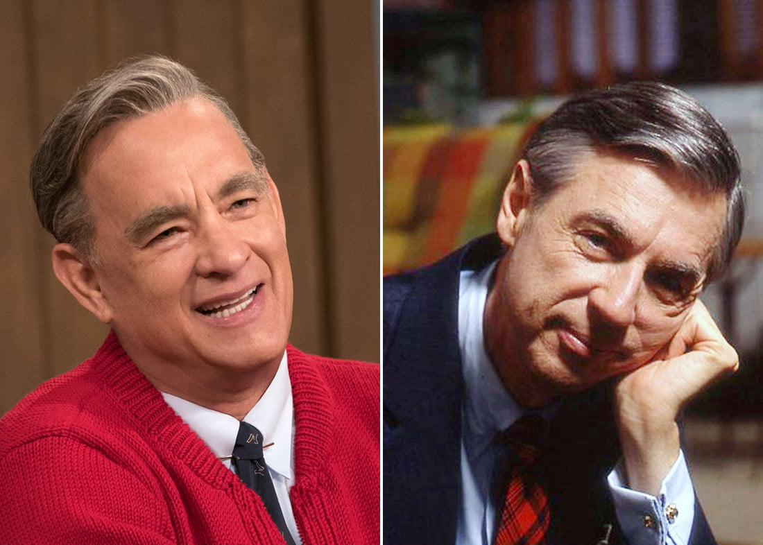 Tom Hanks Finds Out He S Related To Mister Rogers Popsugar Celebrity