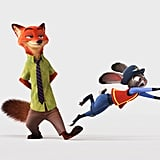 Nick Wilde and Judy Hopps From Zootopia