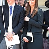 She carried the bag at many events before she was married — including William's first Garter Ceremony back in 2008.
