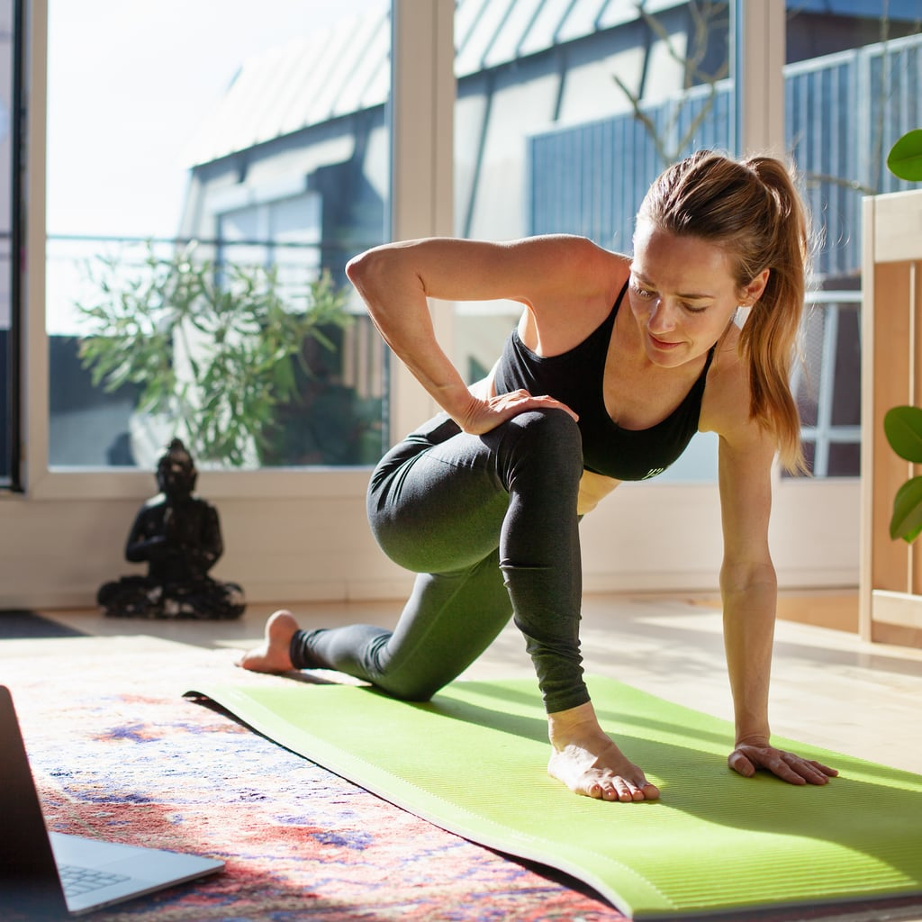 Thick Yoga Mats With Cushioning To Support Your Joints Popsugar Fitness