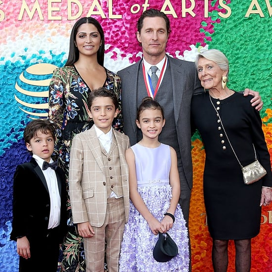 Matthew McConaughey and His Family at Texas Medal of Art
