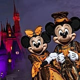 The Start of Mickey's Not So Scary Halloween Party